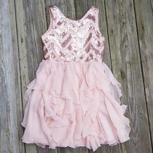 Sequin Flowy Dress
